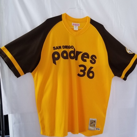 wholesale dealer 97020 96034 SD Padres Gaylord Perry 1978 Throwback Jersey